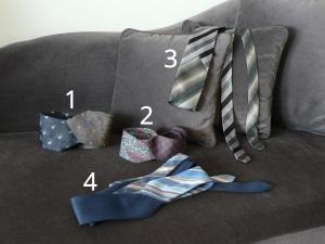 Ceintures cravates