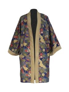 Kimono en coton japonais et laine