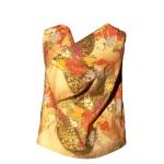 Top col bénitier en coton japonais