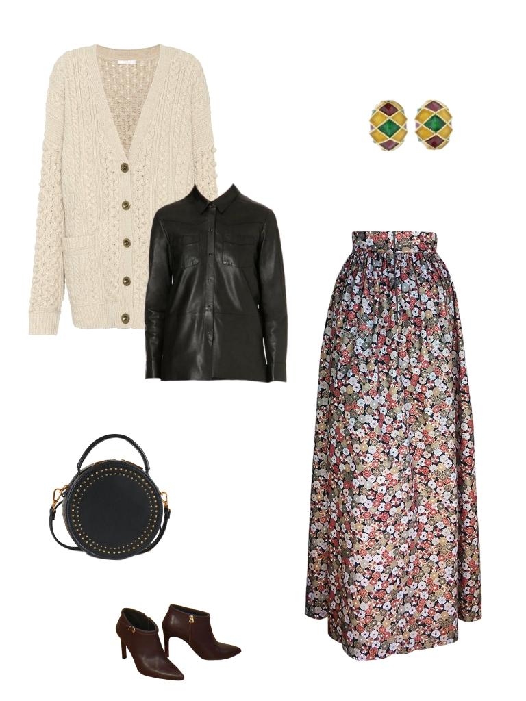 Idée look - Robe dos nu transformable en coton japonais et jacquard de coton et soie