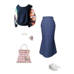 Idée look - Sweat court en laine noire et coton japonais